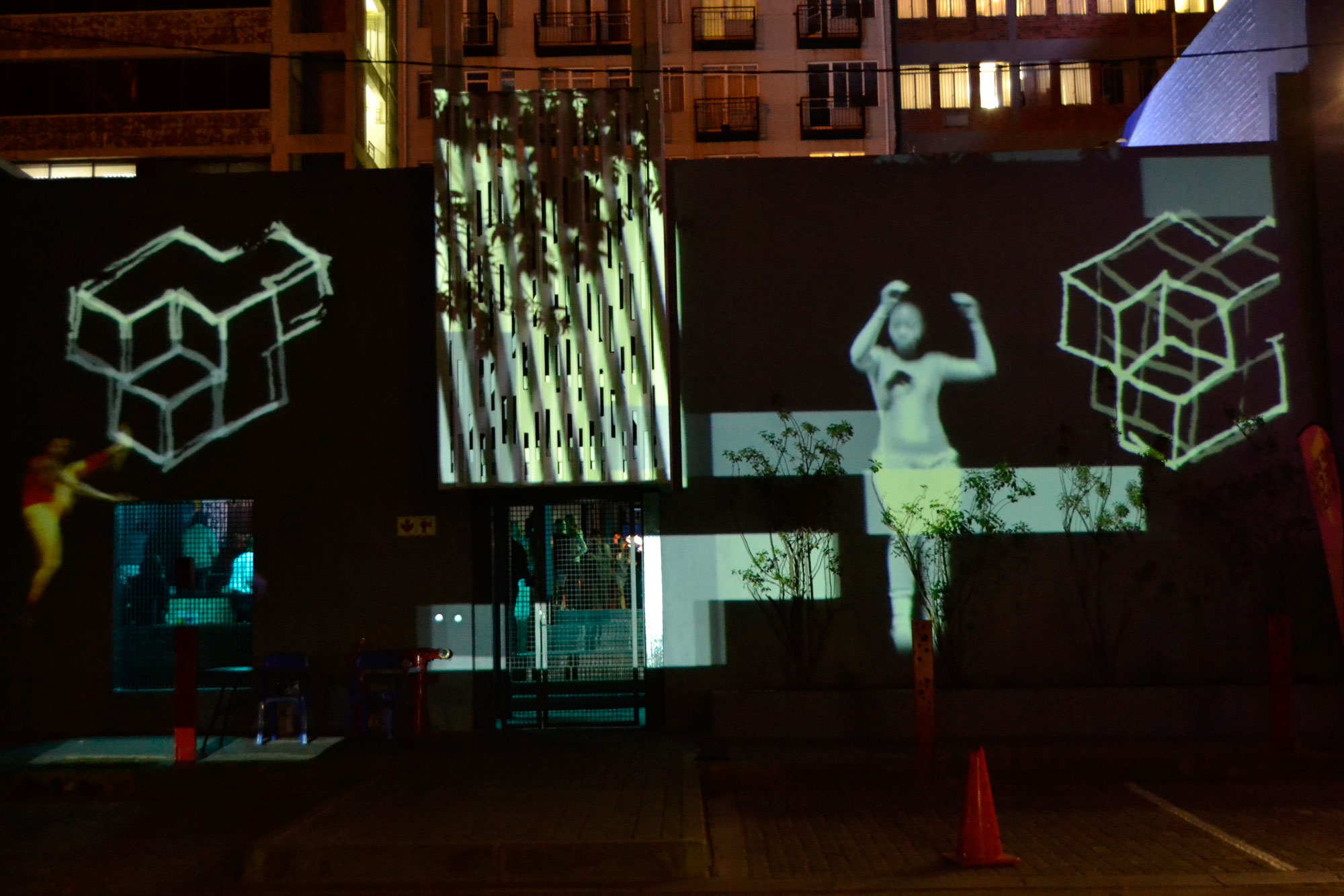 Alight Party Projections from SDNA workshops, 1st September 2016
