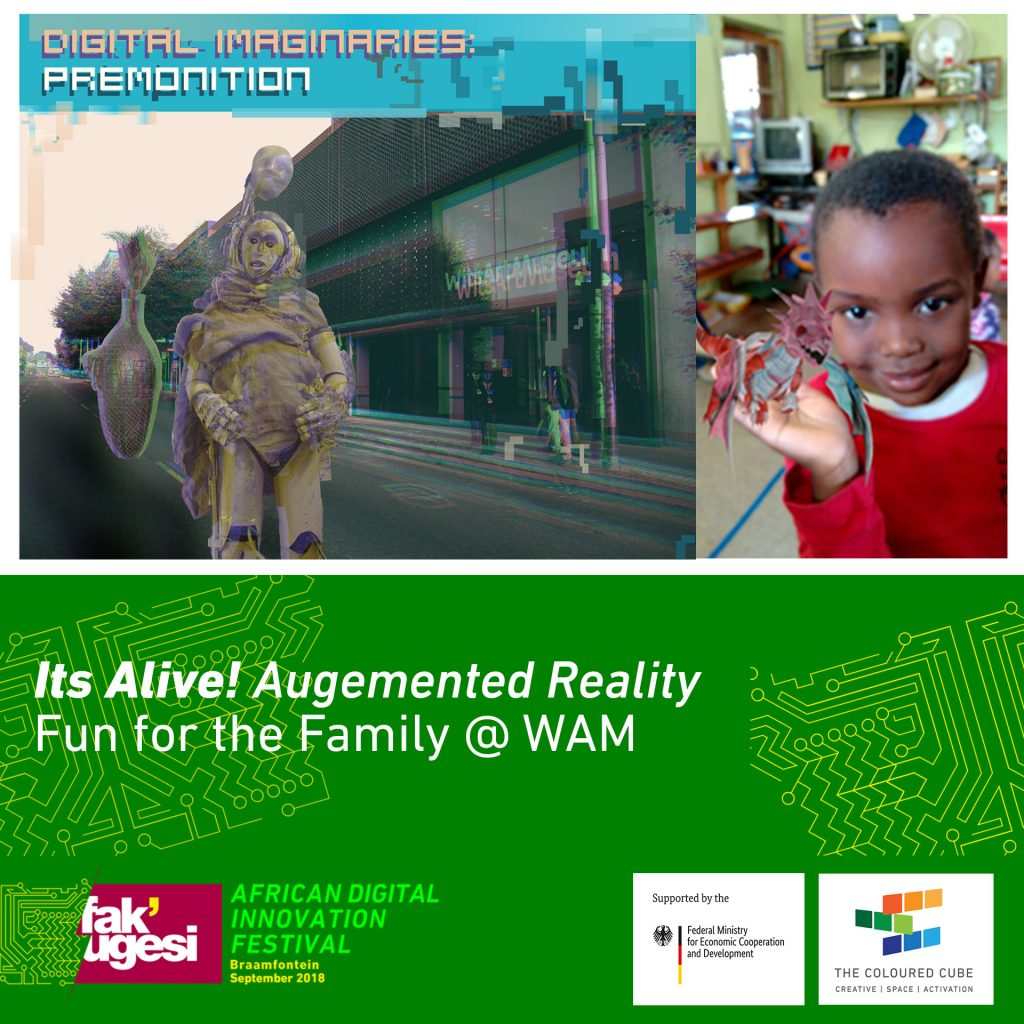 Its Alive Ar For The Family Fakugesi Festival 2018 Pin Leds In Parallel On Pinterest It