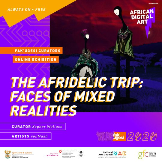 The AFRIDELIC trip: Faces of mixed realities