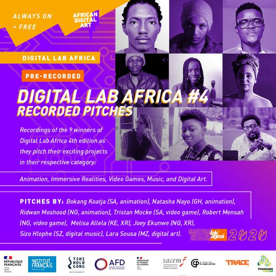 DIGITAL LAB AFRICA #4 Recorded Pitches