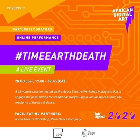 #timeearthdeath: A Live Event