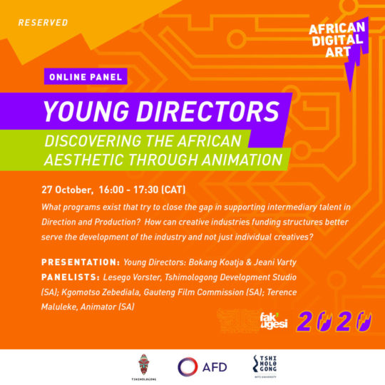 YOUNG DIRECTORS: DISCOVERING THE AFRICAN AESTHETIC THROUGH ANIMATION