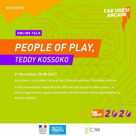 PEOPLE OF PLAY, TEDDY KOSSOKO: Gara Store - Let's Make Cultural and Creative Industries Profitable in Africa