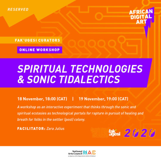 Spiritual Technologies & Sonic Tidalectics