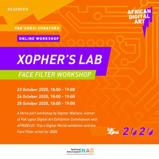 Xopher's Lab: Afridelic Face Filter Workshop