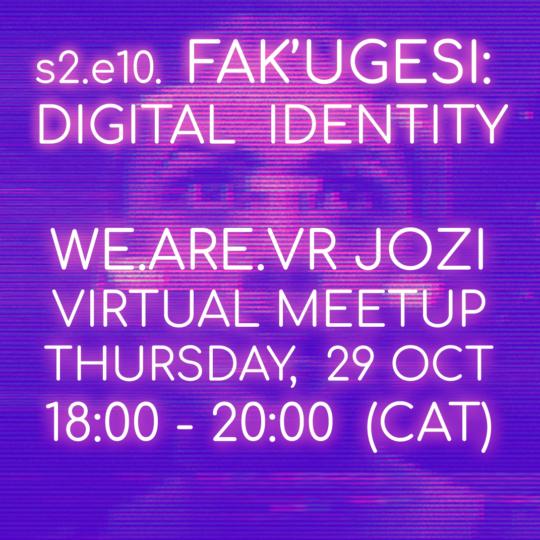 The WeAReVR Virtual Meetup