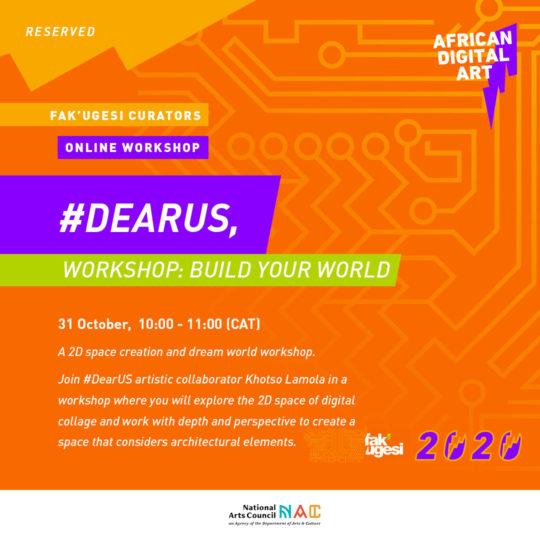 #DearUs Workshop: Build Your World