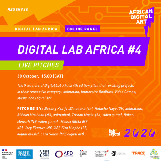 DIGITAL LAB AFRICA #4 Live Pitches