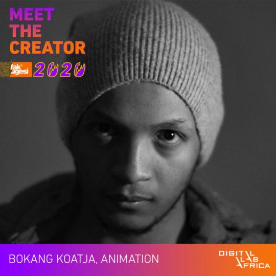 Meet the Creator: Bokang Koatja