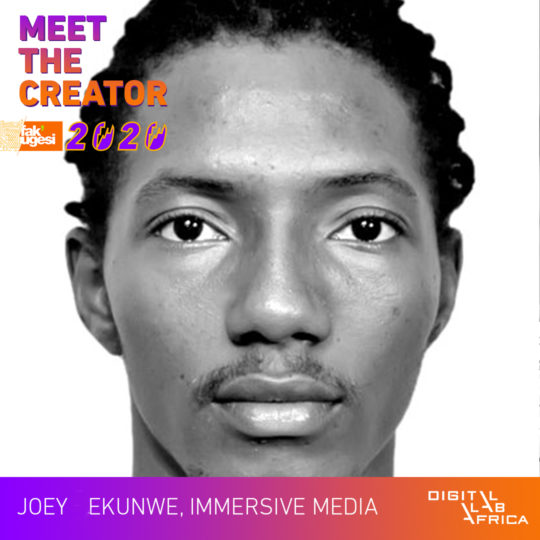 Meet the Creator: Joey Ekunwe